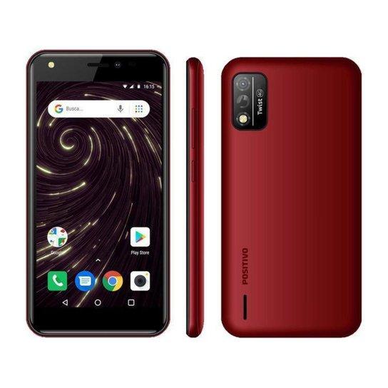 Smartphone Positivo Twist S509 32GB   4G - Vermelho