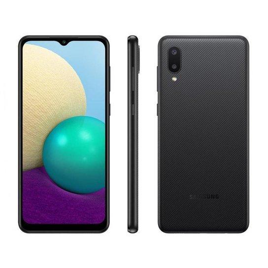 Smartphone Samsung Galaxy A02 32GB  4G - Preto