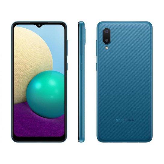 Smartphone Samsung Galaxy A02 32GB  4G - Azul