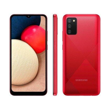 Smartphone Samsung Galaxy A02s 32GB Vermelho 4G