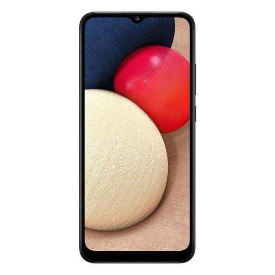 "Smartphone Samsung Galaxy A02S,32GB + 3GB RAM Tela de 6.5"" - Preto"