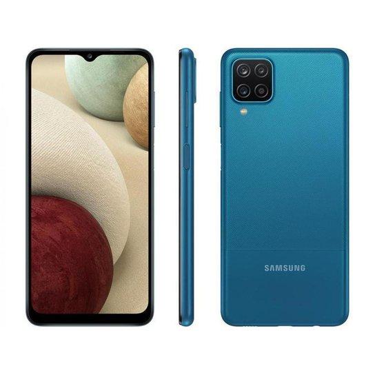 Smartphone Samsung Galaxy A12 64GB  4G - Azul