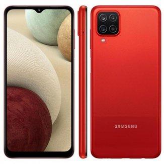 Smartphone Samsung Galaxy A12 Android 6,5 Polegadas 64GB 4GB RAM Octa Core 4G