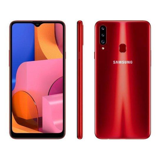 Smartphone Samsung Galaxy A20s 32GB  4G - Vermelho