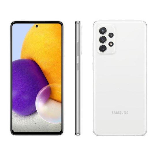 Smartphone Samsung Galaxy A72 128GB Branco 4G - Branco