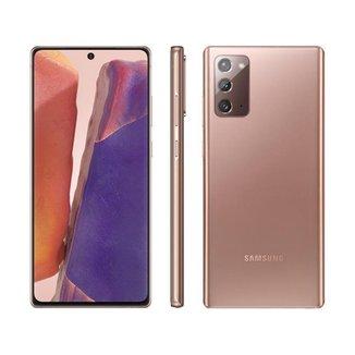 "Smartphone Samsung Galaxy Note 20 256GB Mystic - 8GB RAM Tela 6,7"" Câm. Tripla + Selfie 10MP"