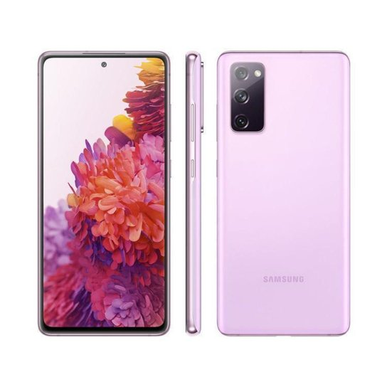 Smartphone Samsung Galaxy S20 FE 128GB Cloud - Lilás