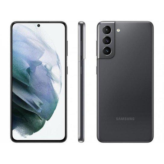 Smartphone Samsung Galaxy S21 128GB   5G - Cinza