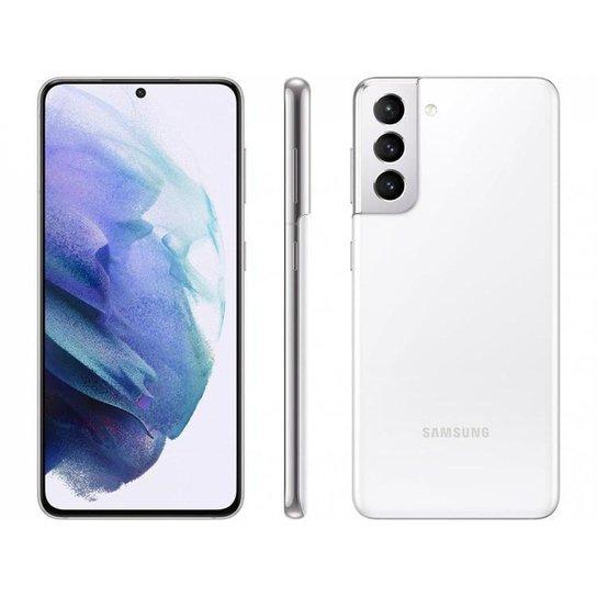 Smartphone Samsung Galaxy S21 128GB   5G - Branco