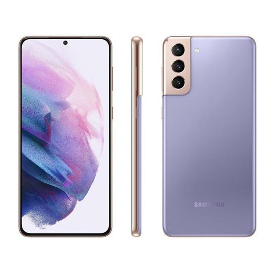 Smartphone Samsung Galaxy S21+ 256GB Violeta 5G - Violeta