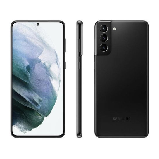 Smartphone Samsung Galaxy S21+ 256GB Violeta 5G - Preto