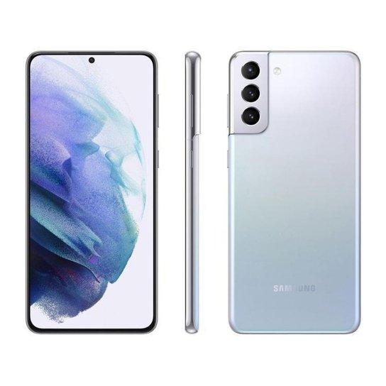 Smartphone Samsung Galaxy S21+ 256GB Violeta 5G - Prata