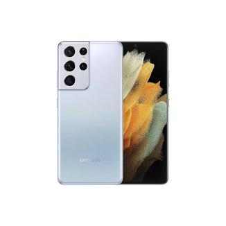 "Smartphone Samsung Galaxy S21 Ultra, 256GB + 12GB RAM, Tela Infinita de 6.8"" Smartphone Samsung Gala"