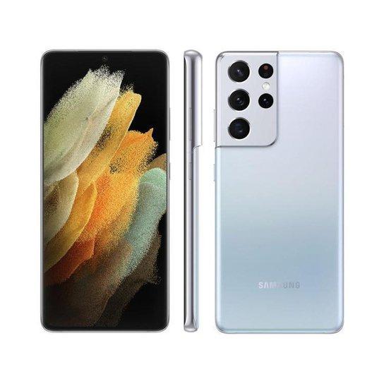 Smartphone Samsung Galaxy S21 Ultra 256GB Prata 5G - Prata