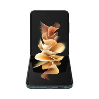 """Smartphone Samsung Galaxy Z Flip3 5G, dobrável, 128GB, 8GB de RAM, Tela de 6.7"""" Verde"""