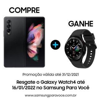 """Smartphone Samsung Galaxy Z Fold3 5G, Dobrável, 512GB, 12GB de RAM, Tela de 7.6"""" Verde"""