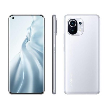 Smartphone Xiaomi Mi 11 256GB Branco 5G