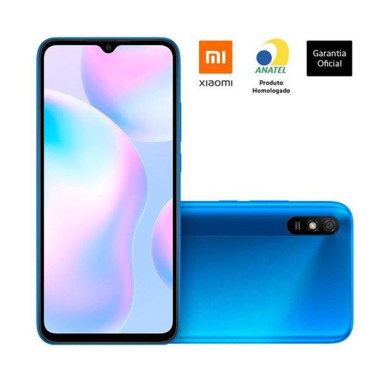 """Smartphone Xiaomi Redmi 9A Tela 653"""" 2Gb/32Gb 4G   Xiaomi - Azul"""