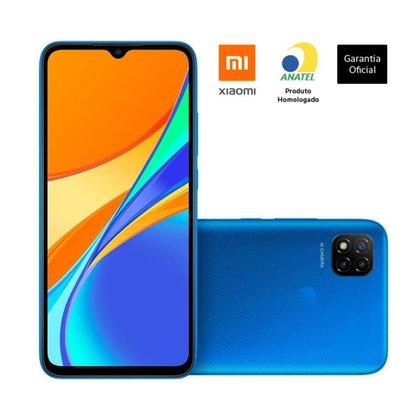 """SMARTPHONE XIAOMI REDMI 9C TELA 6,53"""" 3GB/64GB CINZA Xiaomi"""
