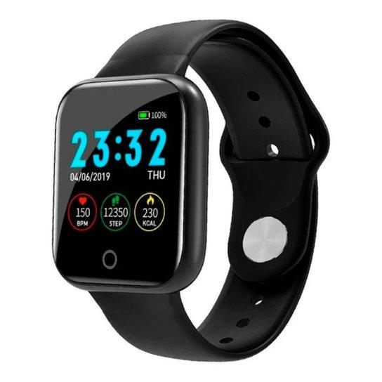 Smartwatch D15 - Preto