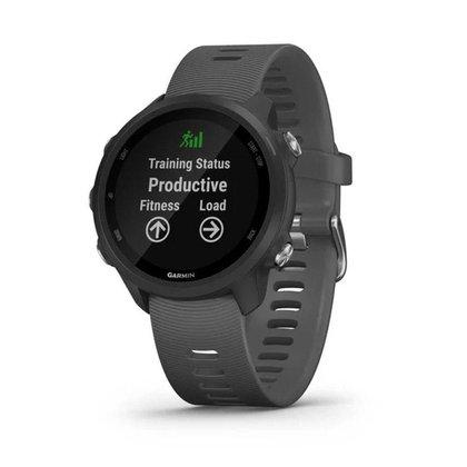 Smartwatch e Monitor Cardíaco de pulso com GPS Garmin Forerruner 245 - Cinza
