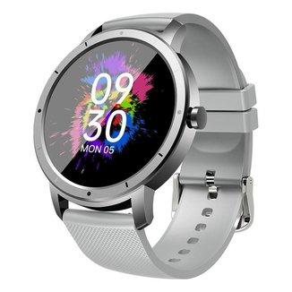Smartwatch HW21 Monitor de Esportes Cinza