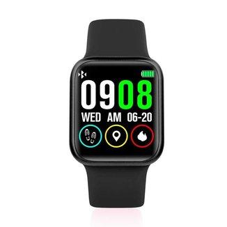 Smartwatch P90XS Pressão, Freqüência Cardíaca Resistente Água Rastreador Monitorador Esporte -