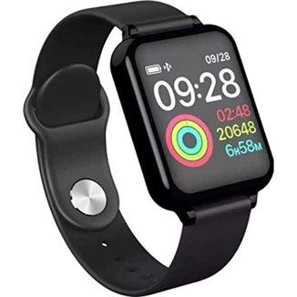 Smartwatch Relogio Inteligente Celular Android Ios Notificaçoes Redes Socias Original B57
