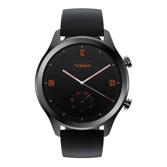 Smartwatch Ticwatch C2 GPS WG12036-PXPX - Preto