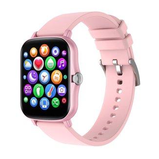 Smartwatch Y22 Monitor de Esportes Rosa
