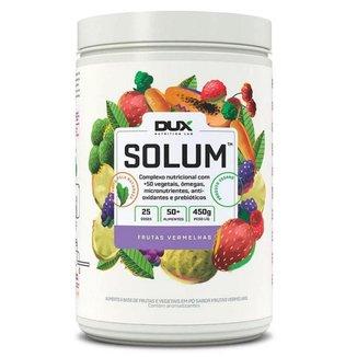 Solum 450g Frutas Vermelha Dux Nutrition