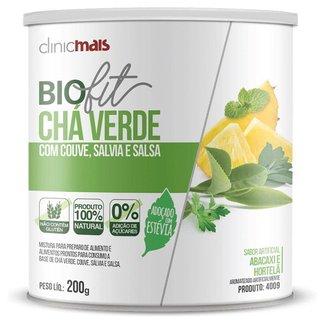 Solúvel Biofit Chá Verde Adoçado com Estévia 200g Clinicmais