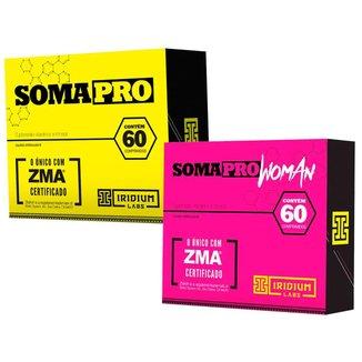 Soma Pro 60 Cápsulas + Soma Pro Woman 60 Cápsulas - Iridium