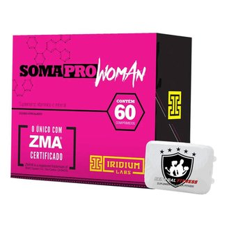 Soma Pro Woman Zma 60 Cápsulas - Iridium Labs + Porta Cápsulas