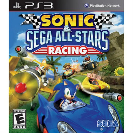 SONIC ALL STAR RACING PS3 - Incolor