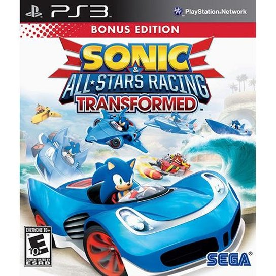 SONIC ALL STAR RACING TRANSFORMED PS3 - Incolor