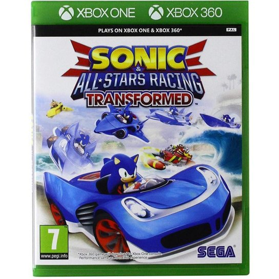 Sonic All-Star Racing: Transformed (Classics) - Xbox One 360 - Incolor