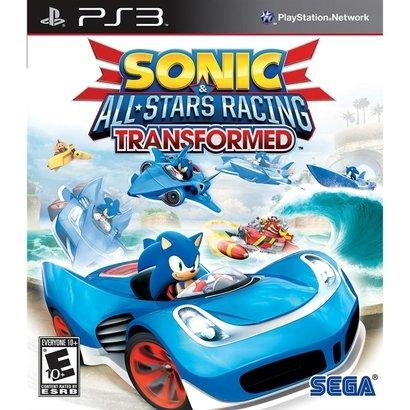 Sonic & All-Stars Racing Transformed É Uma Sequência A Corrida Sonic & All-Stars Racing. O Ouriço Azul Encabeça O Título...
