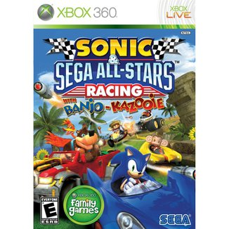 Sonic E Sega All-Stars Racing With Banjo-Kazooie -
