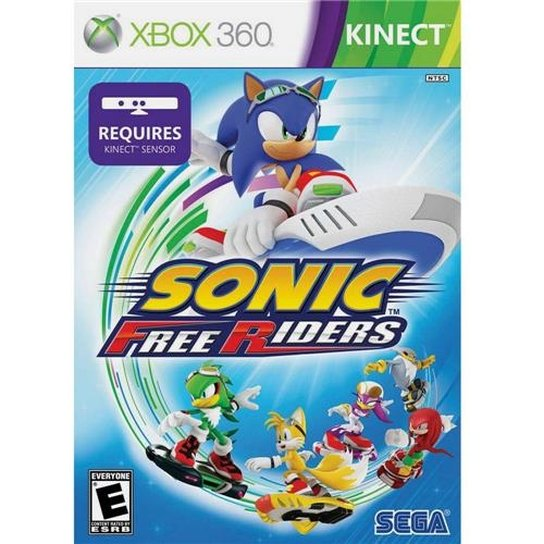 SONIC FREE RIDERS KINECT XBOX 360 - Incolor