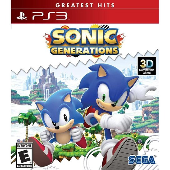 Sonic Generations - PS3 - Incolor