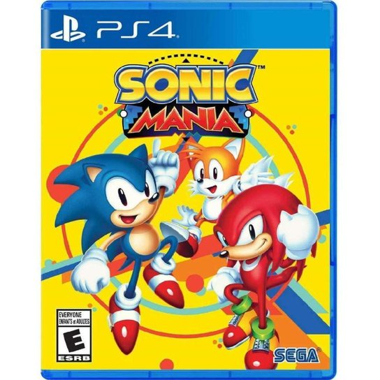 Sonic Mania - Ps4 - Incolor