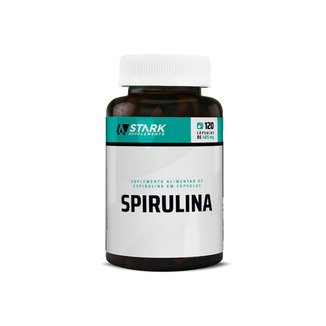 Spirulina 120 Cápsulas Stark Supplements