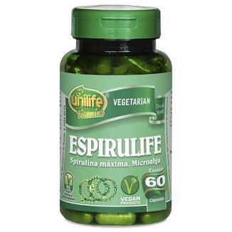Spirulina Espirulife 60 cápsulas 500mg