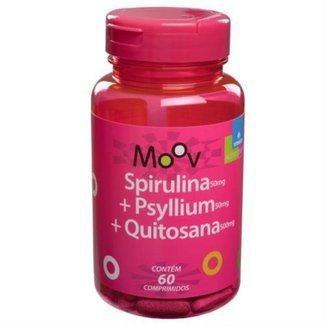 SPIRULINA + PSYLLIUM + QUITOSANA MOOV - 60 comprimidos