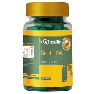 Spirulina Soulife 1100mg - 60 Cáps