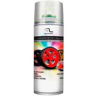Spray de Envelopamento Líquido Emborrachado Multilaser - 400ml - Branco Fosco - AU421