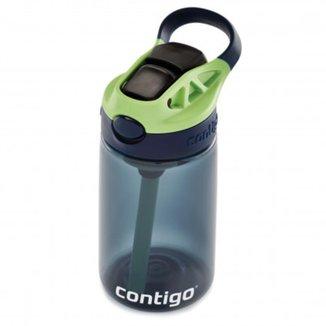 Squeeze Garrafa Infantil Agua Com Bico Retratil e Canudo Autospout Tritan 414ml Contigo