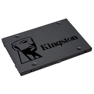 SSD 240GB Kingston A400 - Leitura 500 MB/s - Gravação 350MB/s - SA400S37/240G