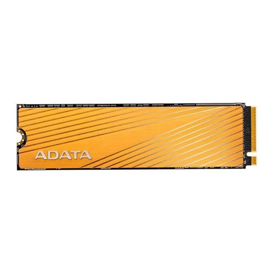 SSD Adata Falcon 512GB M.2 2280 PCIe Gen3x4 NVMe, AFALCON-512G-C - Dourado